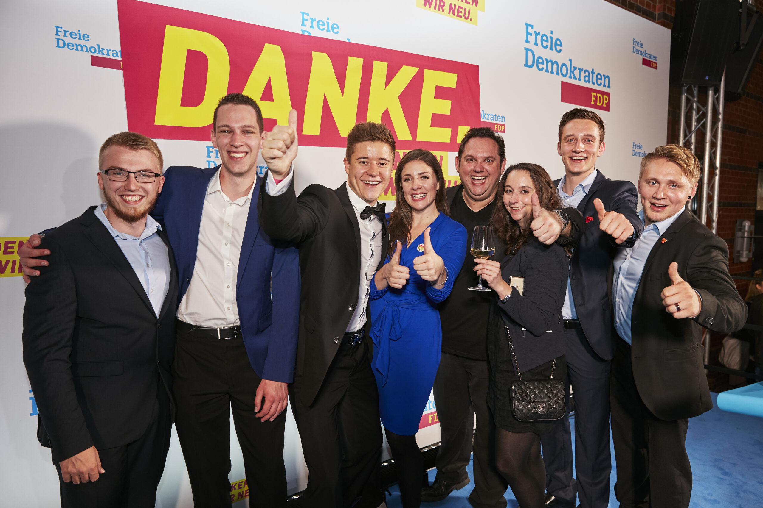 Wahlparty der FDP zu den Bundestagswahlen 2017