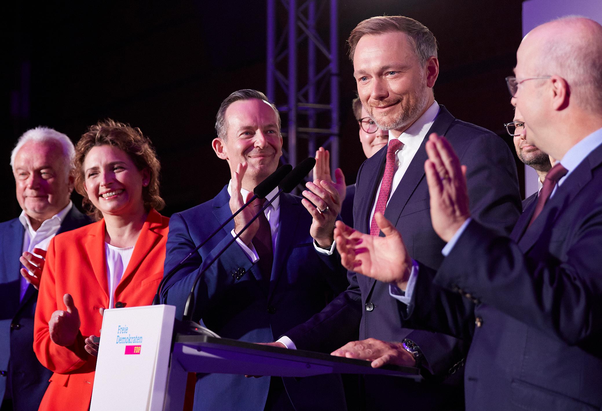 FDP-Wahlkampfparty 2021